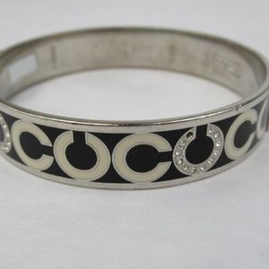 Authentic Coach Signature Bangle
